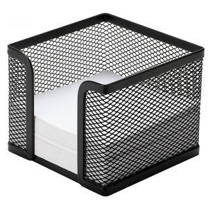 1c86ff2418b9 Drôtený stojan na blok kocka 95x80x95mm čierny empty
